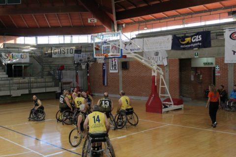 Basket in carrozzina: la Lupiae Salento Team chiude il campionato una vittoria