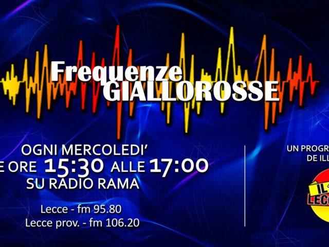 """Questo pomeriggio torna """"Frequenze Giallorosse"""" su Radio Rama"""