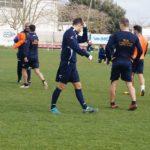 Archiviato l'allenamento a Martignano: Vigorito e Fiamozzi ancora ai box