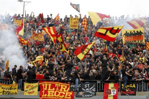 Lecce-Paganese, prevendita a gonfie vele. Il club chiede l'aumento della capienza del Via del Mare