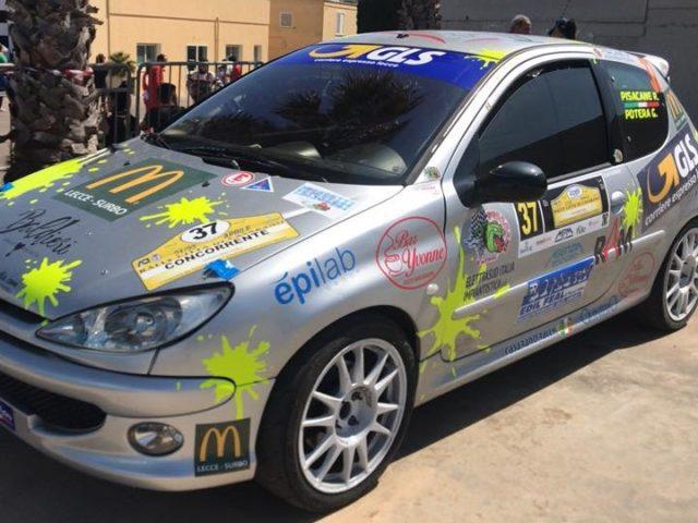 Brillano le stelle di Riccardo Pisacane e Gianmarco Potera nel 25° Rally Città di Casarano