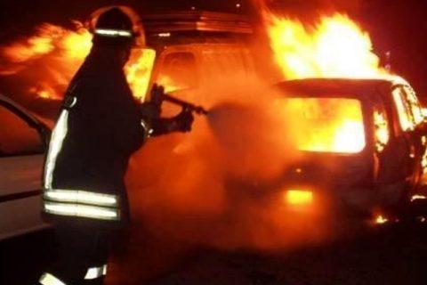 Attentato contro un calciatore: auto data alle fiamme nella notte