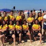 Magna Grecia Beach Rugby Cup: Le Tarantate vincono la tappa di Barletta con l'aiuto del Club Granata