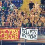 """""""Meluso vattene"""": lo striscione presente anche al Ferraris"""