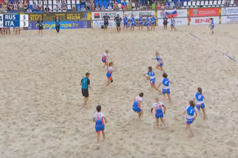 Beach Rugby, Europeo Femminile: l'Italia allenata dal salentino Fabio Manta chiude al secondo posto
