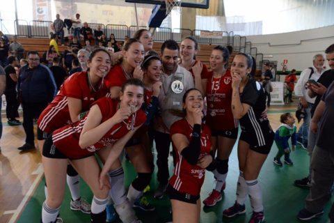 Volley Femminile, Melendugno vince anche la Coppa Puglia: battuto 3-0 Corato in finale