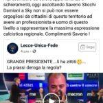 """Dichiarazioni Sticchi Damiani, Valentini: """"Orgoglio di tutto il territorio"""""""